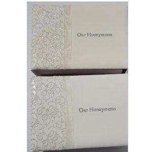 Photo Album Honeymoon White Lace & Promises 2 pcs